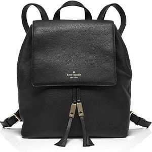 Kate Spade Street Backpack Style with Drawstring